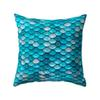 Mermaid fish scale pillowcase Cover Glamour Square Pillow Case Cushion Cover Home Sofa Car Decor Mermaid Pillow Covers 16 Color