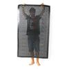 New Rubber Anti-Slip Mat Anti-Fatigue Anti-static Floor Pad Commercial Industrial Use Drainage Kitchen Home Black 150 x 90 x 0.8cm