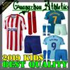 2019 Madrid kids kit GRIEZMANN Madrid home Soccer Jersey KOKE Soccer Shirt Customized SAUL DIEGO COSTA 19 20 atletico boy short football