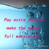 extra fee for watch waterproof