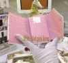 8 White Plaid Pink Futter