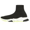 2019 Designer Shoes Speed Trainer Black Red Gypsophila Triple Black Fashion Flat Sock Boots Men Women Casual Shoes Runner With Dust Bag