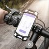 Adjustable Bicycle Phone Holder For iPhone Samsung Universal Mobile Cell Phone Holder Bike Handlebar Clip Stand GPS Mount Bracket