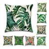 Nordic Tropical Plants Decoration Print Cactus Monstera Cushion Cover Polyester Throw Pillow Sofa Home Decorative Pillowcase Without Pillow