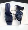 Tacones azules 9cm