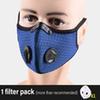 Bleu avec un filtre