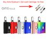 Authentic Airis Mystica II 2 VV 450mAh 3.7V~4.2V battery mod Vape Pen Thick Oil Fit 510 thread Vaporizer With Ceramics Glass Cartridges