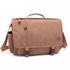 Latest design high quality fashional canvas cross shoulder business men message bags