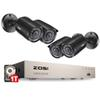 ZOSI 8CH CCTV System 4PCS 1280TVL Outdoor Weatherproof Security Camera 8CH 720P DVR Day Night DIY Kit Video Surveillance System