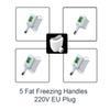 5 개의 손잡이 (220V EU 플러그)
