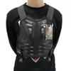 Men Motocycle Vest Body Guard Vest Racing Cycling Sking Riding Skateboarding Chest Back Spine Protector Motorbike Gear Motocross Body Armor