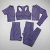 5piece purple set