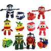 Robot Trains Transformation Kids Anime Kay Train Deformation Train Car Action Figure Kids Toys for Children 13cm with Original Box