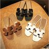 Paris Brand Flats Sandals with Box Dust Bag High Quality Slippers Designers Shoes Loafers Fashion Flip Flops Boots Sneakers 03