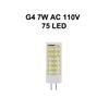 G4 7W AC110V 75LED