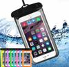 Dry Bag Waterproof case bag PVC Protective universal Phone Pouch With Compass Bags For Diving Swimming For smart phone up to 5.8 inch