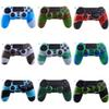 For PS4 Gamepad Silicone Cover Rubber camouflage Case Protective Cover for Playstation 4 Controller Controle Joystick DHL