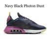 Navy Black Photon Dust