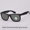 black/gray polarized