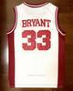 Bryant # 33 Blanc