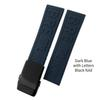 Dark Blue schwarz Schnalle