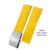 Gelb Silberschnalle