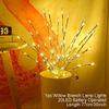 LED Branch Silver