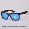 black/blue polarized