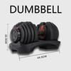 Dumbbell Only 1 Piece
