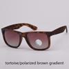 tortoise/brown gradient polarized
