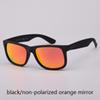 black/orange unpolarized