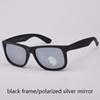 black/silver polarized