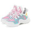 sapatos de crianças rosa