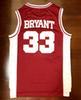 Bryant # 33 rouge