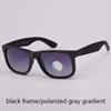 black/gray gradient polarized