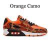 Orange Camo