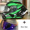 Clear + Blue 2 visores