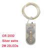 Silver swire / CR2032 Style