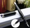 قلم حبر فضي