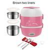 الوردي 2 أدوات المائدة الصين 220V