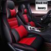negro rojo de lujo