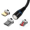 For 3 different adapters+1 usb cable