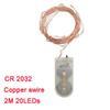 Copper swire / CR2032 Style