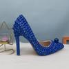 Conjunto azul de 11cm
