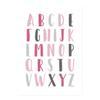 10x15 cm sans cadre Alphabet5