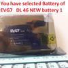 única bateria evg7