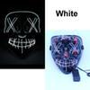 maschera LED bianco