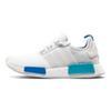 #8 white blue
