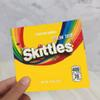 노란색 skittles 가방
