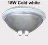 18W الباردة الأبيض لا عن بعد